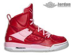 hot sale online 2df14 507a3 Jordan Flight 45 High Premium GS - Nike Air Jordan Baskets Pas Cher  Chaussure Pour FemmeFille-547769-605 - Nike Air Jordan Site Officiel, B..