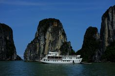 https://flic.kr/s/aHsky5kugk | Halong bay Exploration | As a local legend goes, when Vietnam was attacked from the sea, the Jade Emperor sent Mother Dragon and her child down to help the Vietnamese fight against invaders. Those dragons flew down upon where is now Halong Bay and spat countless pearls into the sea, which turned into a myriad of jade islands linking together to form a barrier against the invaders. After driving away the invaders, the Mother Dragon and her child were so charmed…