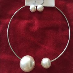 Big pearl small pearl neck set Chanel style/new Jewelry Necklaces