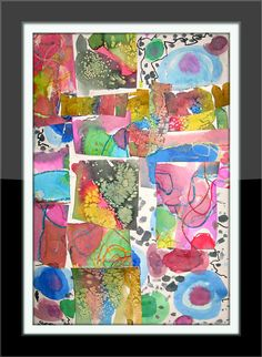 MaryMaking: Abstract Collages
