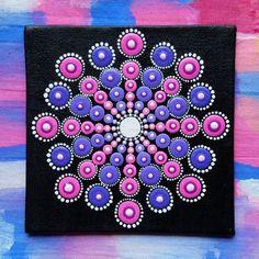 Original Tranquillity Sea Urchin Mandala by Cherie Prinsloo #dotartist #dotify