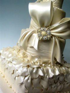 Marina Sousa Stylish Sparkling Wedding Cakes Version 2 « That Takes  cakepins.com