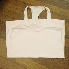 Cool racerback, soft pink,  size 8 Light pink cool racerback is great for any sport lululemon athletica Other