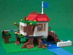 Bridge Treehouse (Alternate build to 31010): A LEGO® creation by Unai Requejo : MOCpages.com