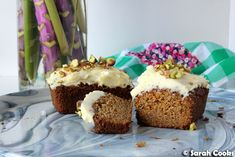 Sarah Cooks: Burnt Butter Carrot Cakes with Cream Cheese Icing