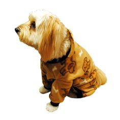 Pedigree Perfection PJP222BGE Pet Threads Beige Doggie Polarctic Fleece Pajamas for Your Dog 20Size ** Click on the image for additional details.