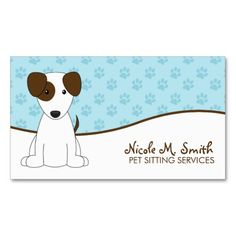 262 Best Pet Care Business Cards Images In 2019 Business Cards