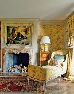Deco Addict, Small Cottages, European Furniture, Interior Decorating, Interior Design, Design Design, French Cottage, Romantic Cottage, French Country Style