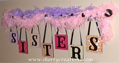 For the Girls room.  Wonder if we can make this?!