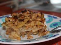Reţeta zilei: Prăjitură cu mere rase