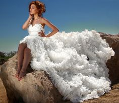 18 Wedding Dresses That Should Have Never Existed  Part 5