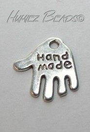 00135 Bedel hand made Tibetaans zilver 11 stuks