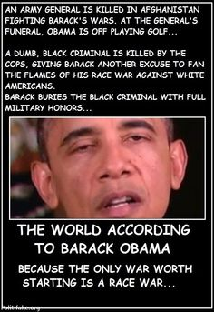 Right Wing Humor: The World according to Barack Obama