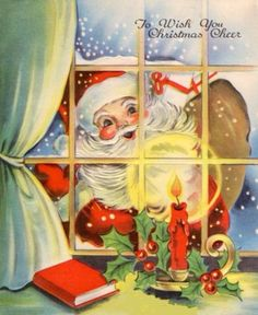 Santa at the window