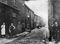 Bolton: Back Cheapside looking from Exchange Street Bolton Lancashire, Salford, Old Pictures, Small Towns, Old Town, Street Photography, Manchester, United Kingdom, England