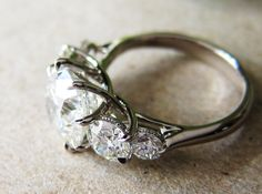 Amazing. http://www.pricescope.com/forum/show-me-the-ring/it-s-here-my-5-stone-8-prong-trellis-reset-by-dbl-t170161.html