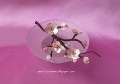 How to make wire flowers with nail polish