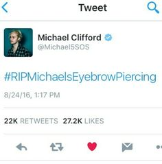 Michael was probably going through that hashtag and laughing the whole time