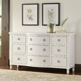 Perfect for stowing linens in the guest room or seasonal apparel in the master suite, this handsome dresser showcases 9 drawers and weathered details for a vintaged touch. New Furniture, Bedroom Furniture, Bedroom Decor, Master Bedroom, Bedroom Ideas, Master Suite, Painted Furniture, Dresser Furniture, Bedroom Simple