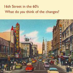 Denvers' 16th Street. Amusement Parks, Childhood Memories, Denver, Growing Up, Past, Colorado, Cute Animals, Around The Worlds, History