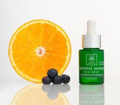 Natural Serum  Radiance with bilberry and vitamin C