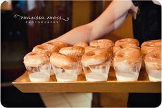 for the guests, krispy kreme doughnut treats  marissa moss photography