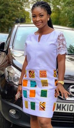 african clothing styles Patchwork on white background African Print Dress Designs, African Print Clothing, African Print Fashion, Africa Fashion, African Women Fashion, Ankara Dress Designs, Short African Dresses, Latest African Fashion Dresses, African Print Dresses