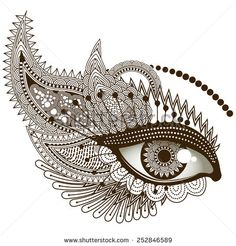 Find Eye Vector Illustration stock images in HD and millions of other royalty-free stock photos, illustrations and vectors in the Shutterstock collection. Art Drawings Beautiful, Art Drawings Sketches Simple, Pencil Art Drawings, Doodle Art Drawing, Mandala Drawing, Mandela Art, Art Painting Gallery, Mandala Art Lesson, Doodle Art Designs