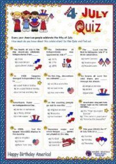 4 of july quiz