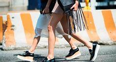 Tendência: Sapatos com Salto Tratorado