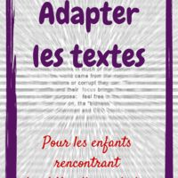 Dyslexique, dyspraxique ou tout simplement en difficulté en lecture... la première chose à faire pour l'aider c'est parfois d'adapter les textes qu'on lui donne . Tout simple, mais ça change...