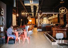 Redefined Coffee House in Grapevine TX article photos.