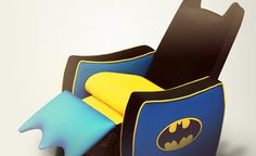 Your Favorite Character Chairs - Some of the most popular kids characters are available in furniture form! If your little one can't resist Hello Kitty, Superman, SpongeBob, Batman, Dora the Explorer, or Tweety Bird, he or she will go wild for these themed chairs and toy boxes.