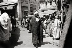 Tangier, Morocco. From a tourist album of a journey on the german liner SS Columbus 17.05. - 1.06. 1935.