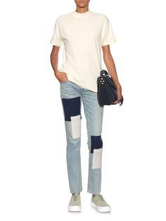 Cass cotton and silk-blend T-shirt | Simon Miller | MATCHESFASHION.COM UK