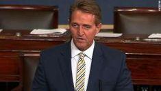 Jeff Flake Rips Trump In Senate Speech....