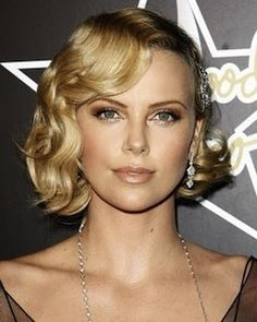 Wedding Hairstyles For Short Hair - InfoBarrel// just a hairstyle i liked for my hair for the wedding :)