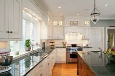 Soffit In Kitchen . soffit In Kitchen . Remove soffits and Add Upper Cabinets Kitchen Soffit, Above Kitchen Cabinets, Kitchen Sink Design, Kitchen Redo, Kitchen Remodel, Upper Cabinets, Kitchen Ideas, White Cabinets, Nice Kitchen