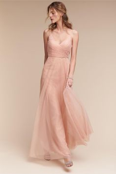 BHLDN's Jenny Yoo Brielle Dress in Cameo Pink