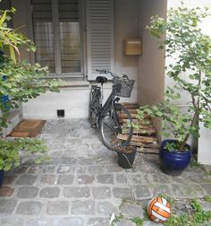 Paris Juin 2014 The perfect garden Bicyclette