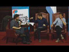 Íñigo Errejón, Axel Kicillof y Eduardo Rinesi en el 2do Foro Construcció...