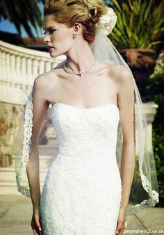 Button Back Wedding Dress