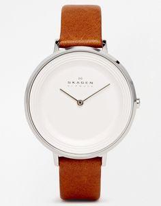 Bild 1 von Skagen – Ditte – Raffinierte braune Armbanduhr SKW22147