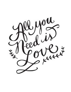Molly Jacques Illustration & Design — All You Need is Love | Print