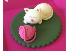 Cat Fondant #Cake