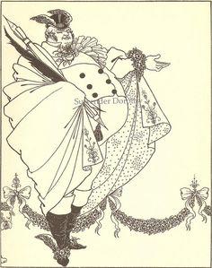 Contents Page Savoy 1895 Aubrey Beardsley Print by SurrendrDorothy, via Flickr