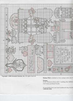 Schema punto croce Kitchen Potpourri 08