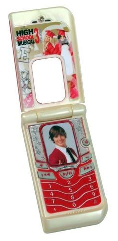 High School Musical - Flip Phone Music Player by Zizzle. $18.98. From the Manufacturer                School is out for summer and all of your favorate High School Musical friends are having fun in the sun!  When Troy, Gabriella, and the rest of the Wildcats get summer jobs at Sharpay and Ryan's country club, you know it's going to be a wild ride!  In between life guarding, caddying and kitchen duty, the Wildcats still find time for baseball practice, golfing and, of cou...