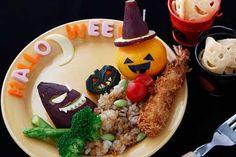 Halloween lunch  ジャック・オ・ランタンのハロウィンランチ