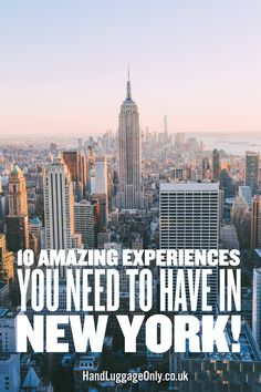 10 Amazing Experiences You Need To Have In New York! - Hand Luggage Only - Travel, Food & Photography Blog